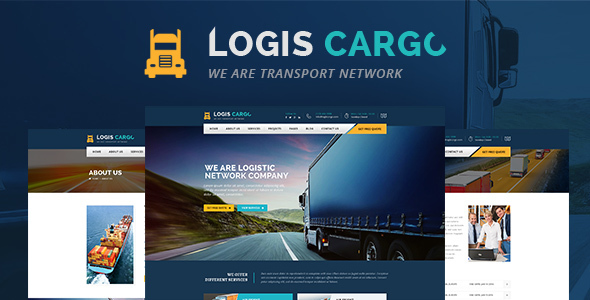 Logiscargo Preview Wordpress Theme - Rating, Reviews, Preview, Demo & Download