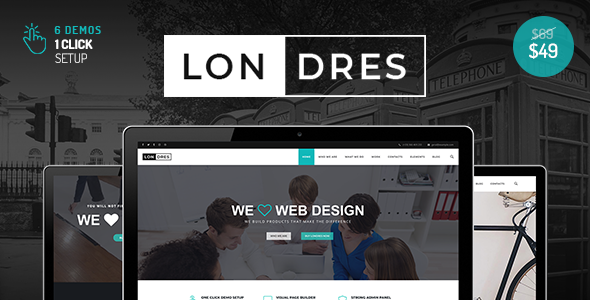 Londres Preview Wordpress Theme - Rating, Reviews, Preview, Demo & Download