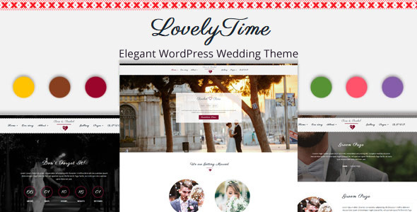LovelyTime Preview Wordpress Theme - Rating, Reviews, Preview, Demo & Download