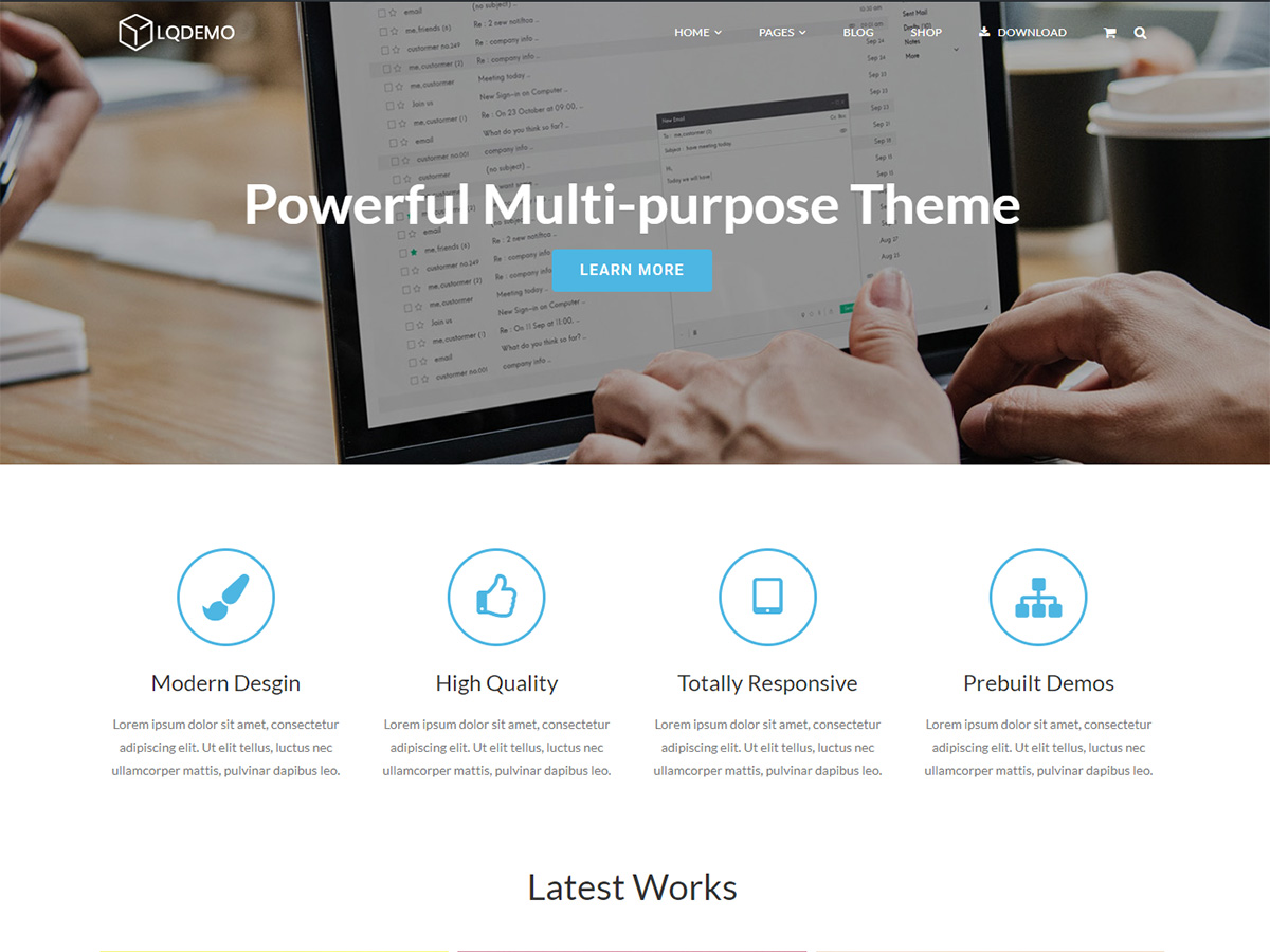 Lucia Preview Wordpress Theme - Rating, Reviews, Preview, Demo & Download