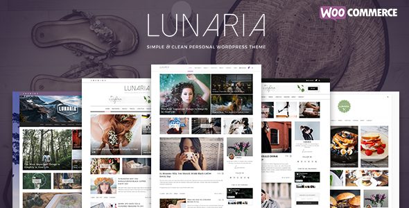 Lunaria Preview Wordpress Theme - Rating, Reviews, Preview, Demo & Download