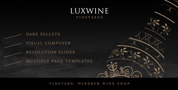 Luxwine Preview Wordpress Theme - Rating, Reviews, Preview, Demo & Download