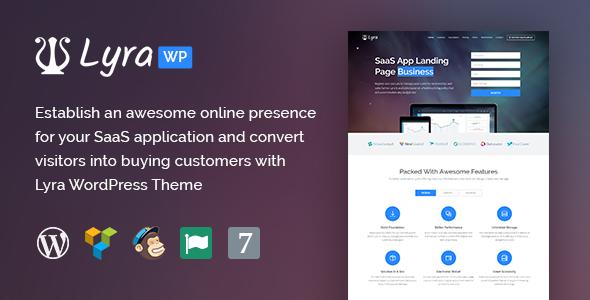 Lyra Preview Wordpress Theme - Rating, Reviews, Preview, Demo & Download