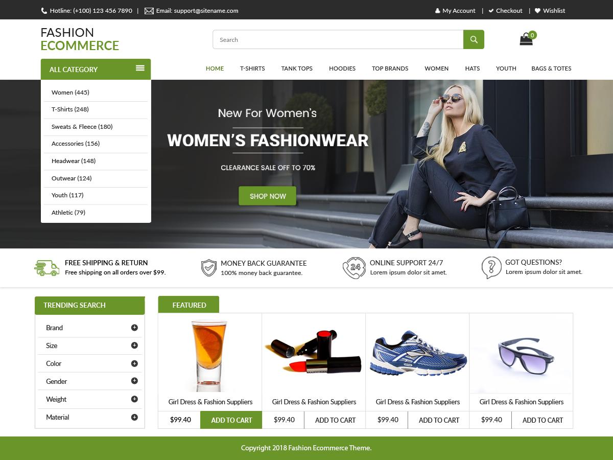 LZ Fashion Preview Wordpress Theme - Rating, Reviews, Preview, Demo & Download