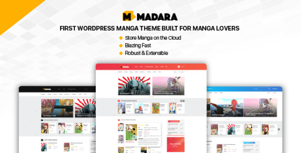 Madara Preview Wordpress Theme - Rating, Reviews, Preview, Demo & Download