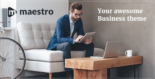 Maestro Preview Wordpress Theme - Rating, Reviews, Preview, Demo & Download