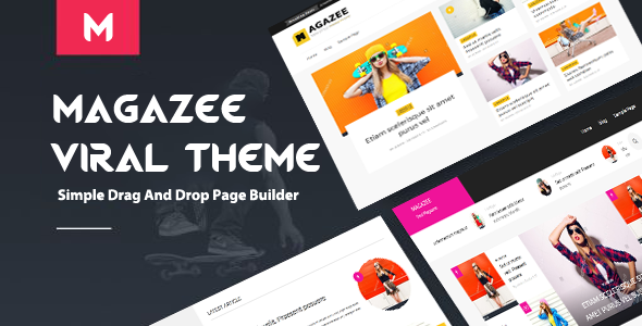 Magazee Preview Wordpress Theme - Rating, Reviews, Preview, Demo & Download
