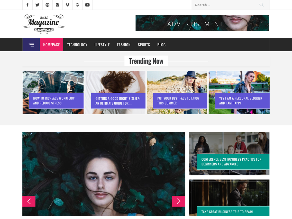 Magazine Base Preview Wordpress Theme - Rating, Reviews, Preview, Demo & Download