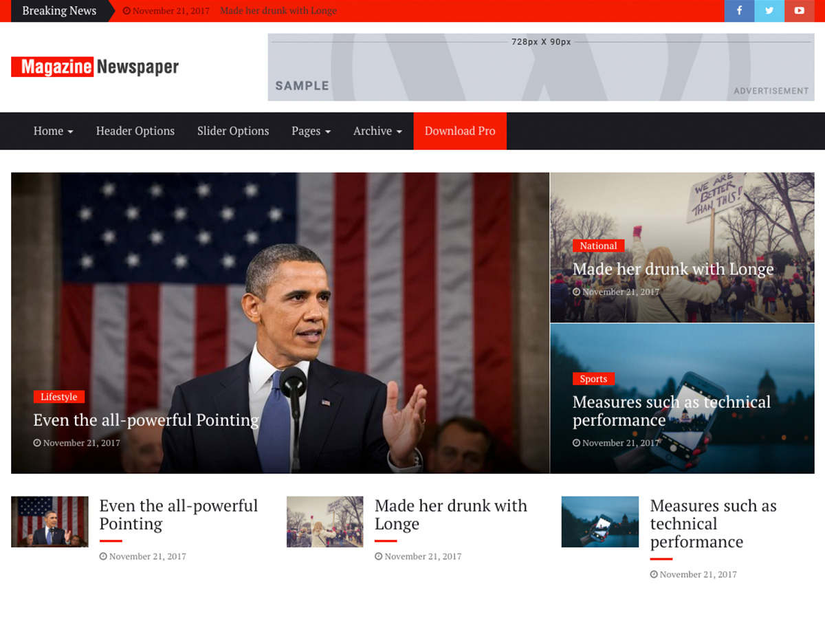 Magazine Press Preview Wordpress Theme - Rating, Reviews, Preview, Demo & Download