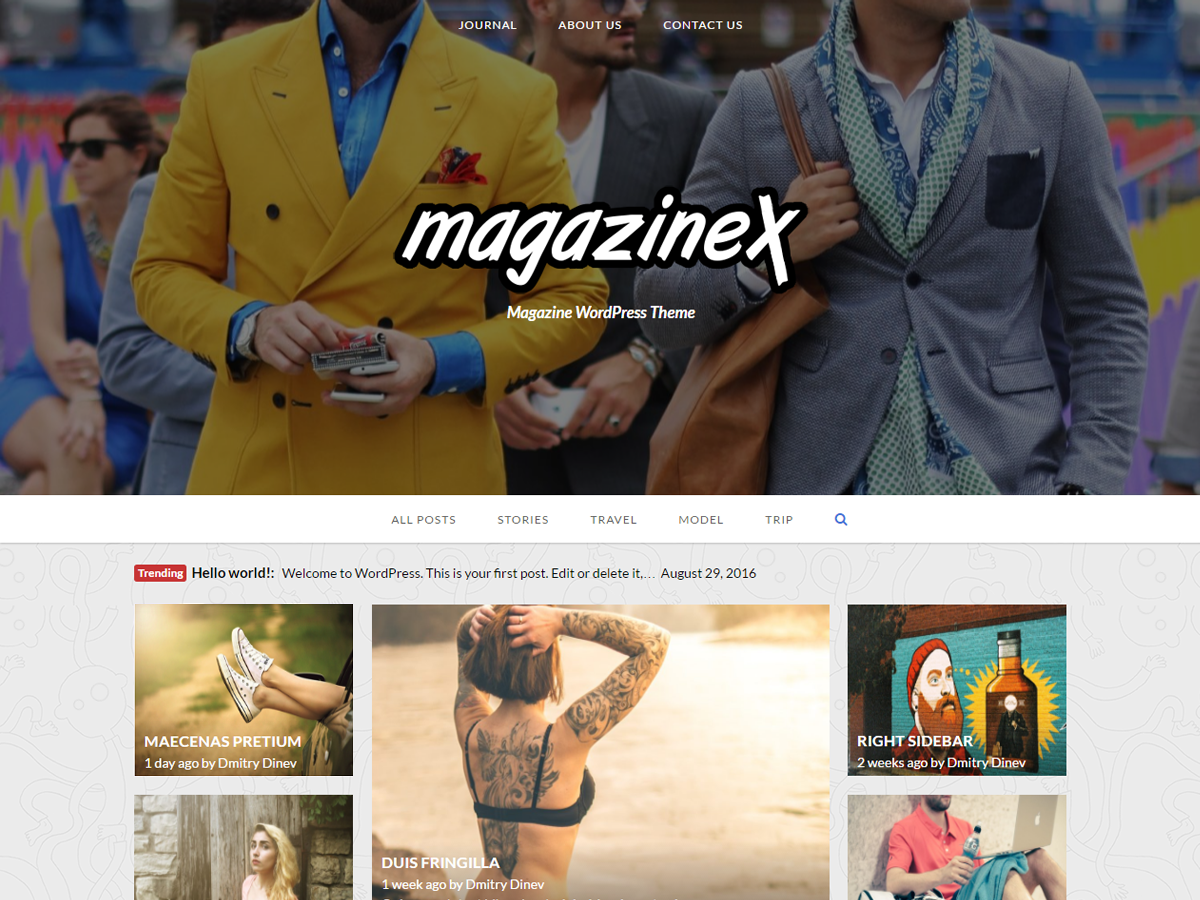 Magazinex Lite Preview Wordpress Theme - Rating, Reviews, Preview, Demo & Download
