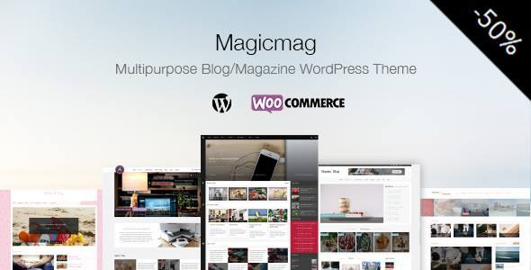 MagicMag Preview Wordpress Theme - Rating, Reviews, Preview, Demo & Download