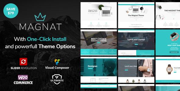 Magnat Preview Wordpress Theme - Rating, Reviews, Preview, Demo & Download