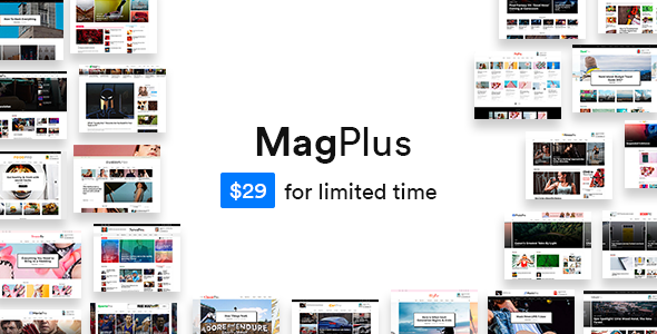 MagPlus Preview Wordpress Theme - Rating, Reviews, Preview, Demo & Download