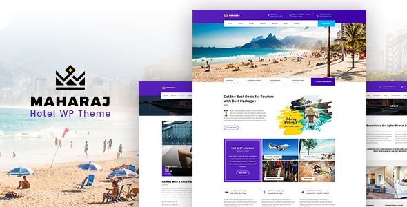 Maharaj Preview Wordpress Theme - Rating, Reviews, Preview, Demo & Download