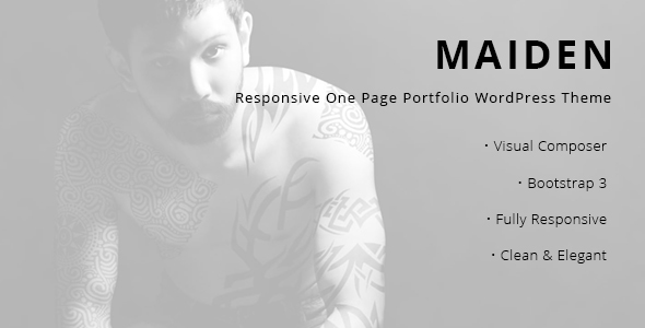 Maiden Preview Wordpress Theme - Rating, Reviews, Preview, Demo & Download