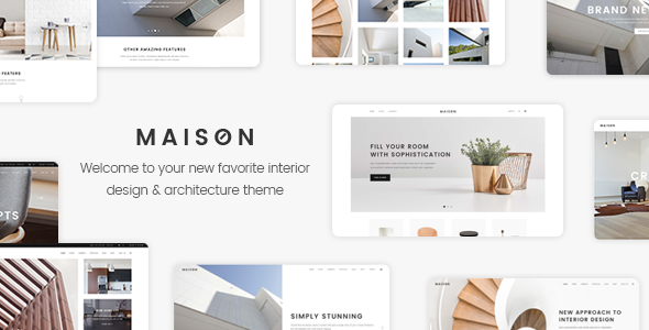 Maison Preview Wordpress Theme - Rating, Reviews, Preview, Demo & Download