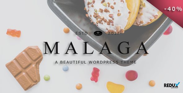 Malaga Preview Wordpress Theme - Rating, Reviews, Preview, Demo & Download