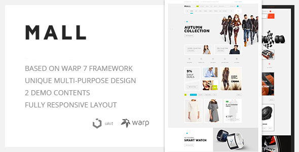Mall Preview Wordpress Theme - Rating, Reviews, Preview, Demo & Download
