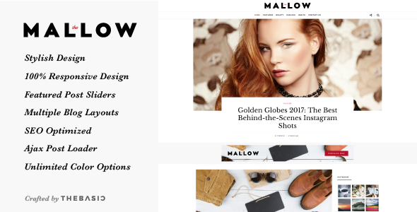 Mallow Preview Wordpress Theme - Rating, Reviews, Preview, Demo & Download