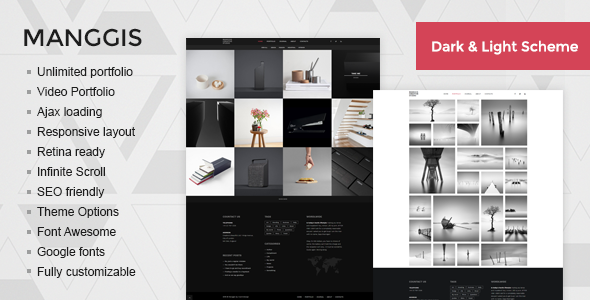 Manggis Preview Wordpress Theme - Rating, Reviews, Preview, Demo & Download