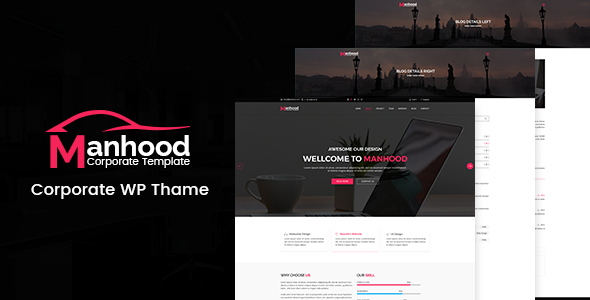 Manhood Preview Wordpress Theme - Rating, Reviews, Preview, Demo & Download