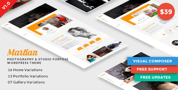 Martian Preview Wordpress Theme - Rating, Reviews, Preview, Demo & Download