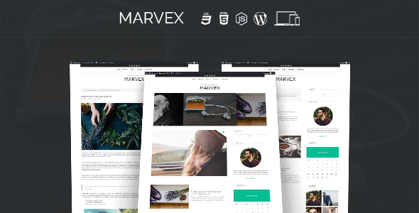 Marvex Preview Wordpress Theme - Rating, Reviews, Preview, Demo & Download