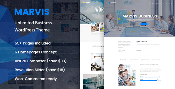 Marvis Preview Wordpress Theme - Rating, Reviews, Preview, Demo & Download