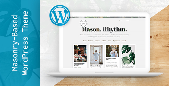 Mason Rhythm Preview Wordpress Theme - Rating, Reviews, Preview, Demo & Download