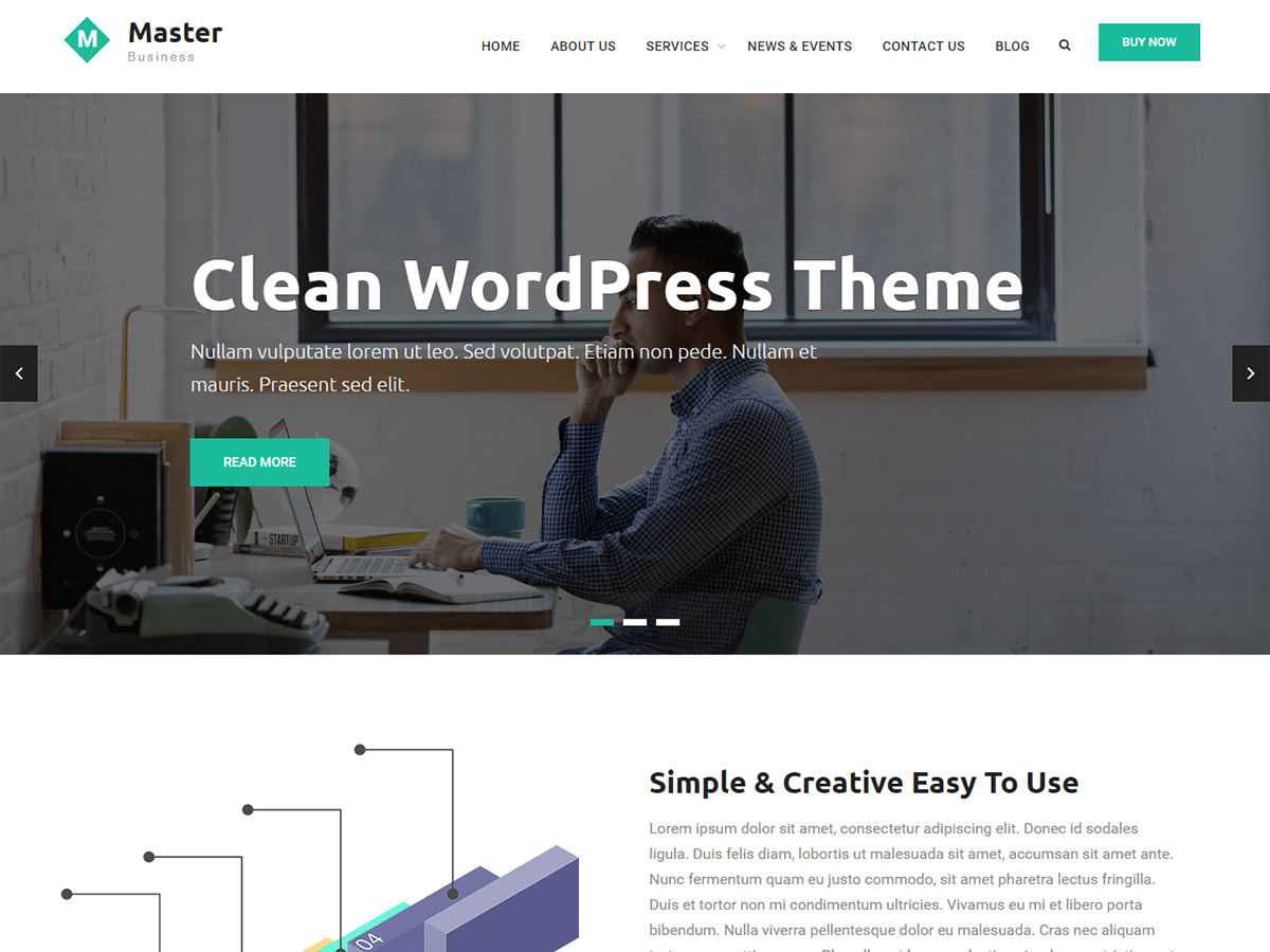 Master Business Preview Wordpress Theme - Rating, Reviews, Preview, Demo & Download
