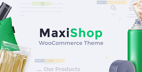 MaxiShop Preview Wordpress Theme - Rating, Reviews, Preview, Demo & Download