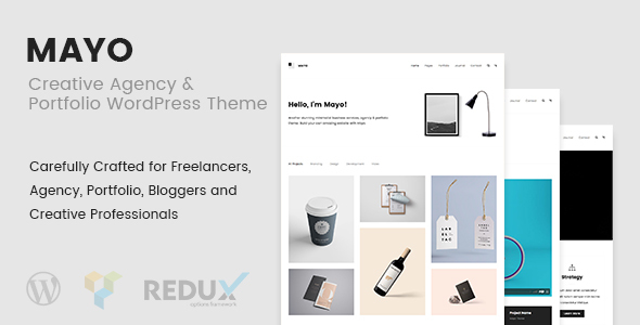 Mayo Preview Wordpress Theme - Rating, Reviews, Preview, Demo & Download