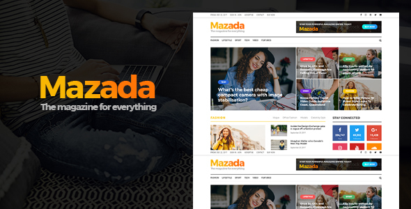 Mazada Preview Wordpress Theme - Rating, Reviews, Preview, Demo & Download