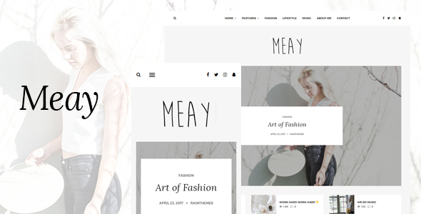 Meay Preview Wordpress Theme - Rating, Reviews, Preview, Demo & Download