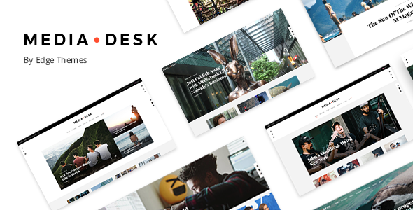 MediaDesk Preview Wordpress Theme - Rating, Reviews, Preview, Demo & Download