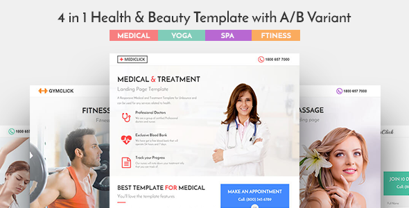 Mediclick Preview Wordpress Theme - Rating, Reviews, Preview, Demo & Download