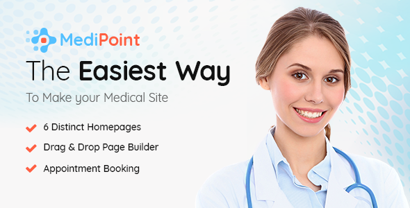 MediPoint Preview Wordpress Theme - Rating, Reviews, Preview, Demo & Download
