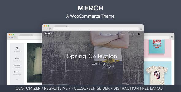 Merch Preview Wordpress Theme - Rating, Reviews, Preview, Demo & Download