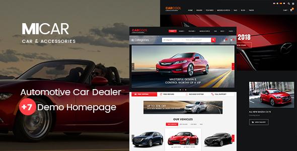 Micar Preview Wordpress Theme - Rating, Reviews, Preview, Demo & Download
