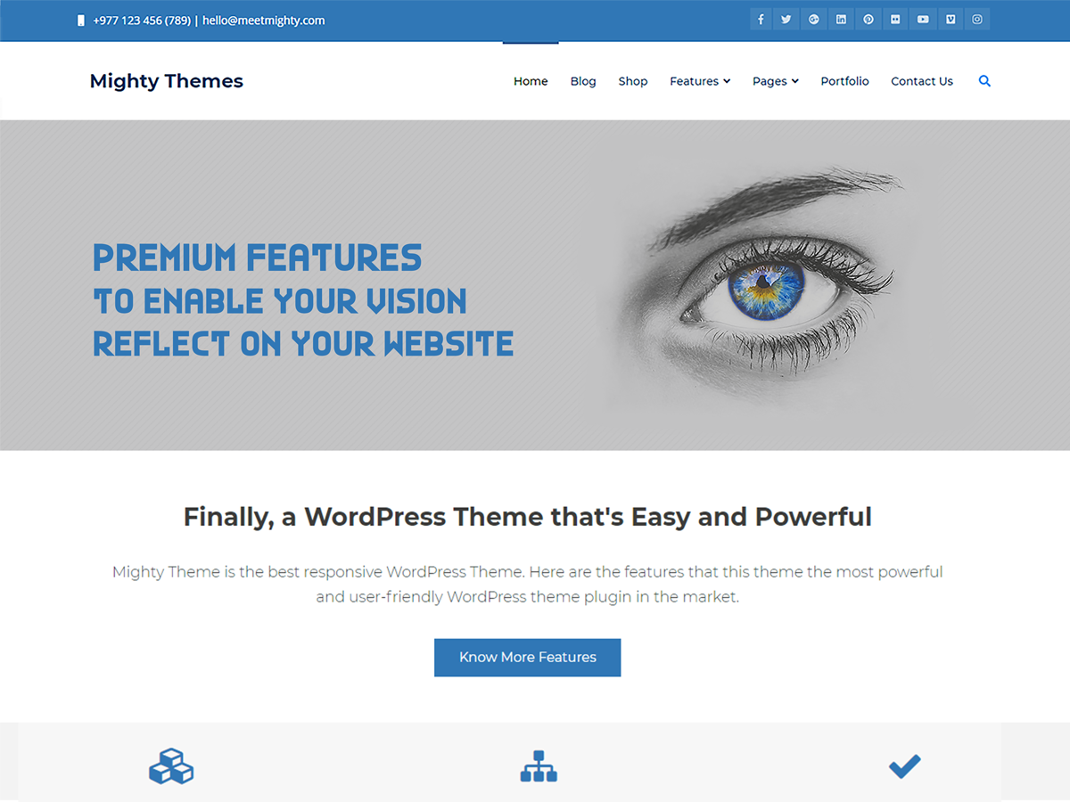 Mighty Preview Wordpress Theme - Rating, Reviews, Preview, Demo & Download