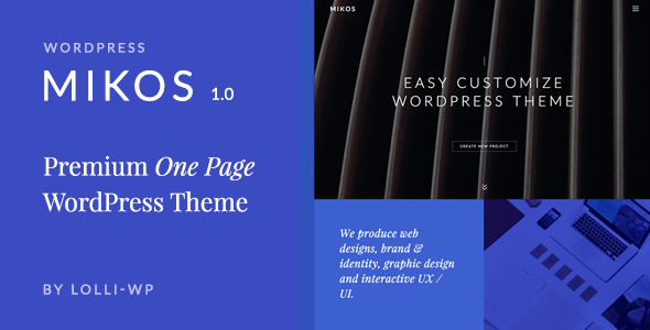 Mikos Preview Wordpress Theme - Rating, Reviews, Preview, Demo & Download