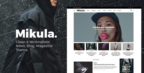 Mikula Preview Wordpress Theme - Rating, Reviews, Preview, Demo & Download