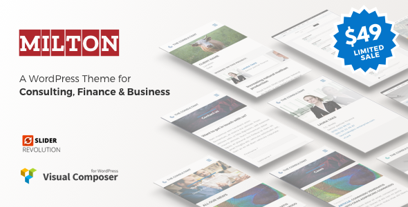 Milton Preview Wordpress Theme - Rating, Reviews, Preview, Demo & Download
