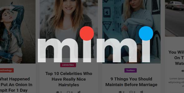 Mimi Preview Wordpress Theme - Rating, Reviews, Preview, Demo & Download