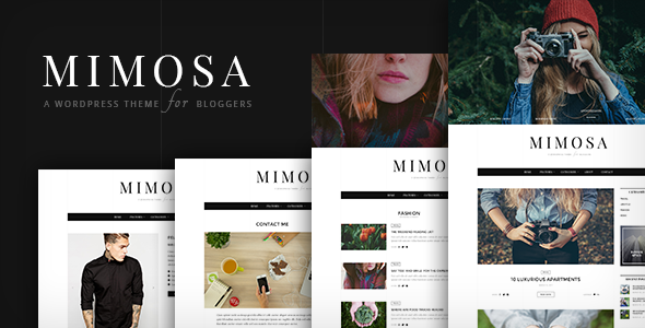 Mimosa Preview Wordpress Theme - Rating, Reviews, Preview, Demo & Download