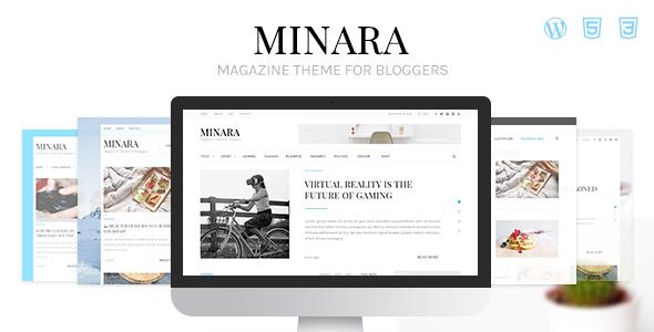 Minara Preview Wordpress Theme - Rating, Reviews, Preview, Demo & Download