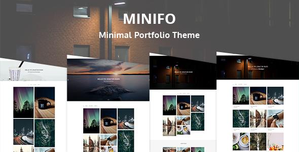 Minifo Preview Wordpress Theme - Rating, Reviews, Preview, Demo & Download