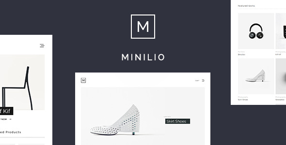 Minilio Preview Wordpress Theme - Rating, Reviews, Preview, Demo & Download