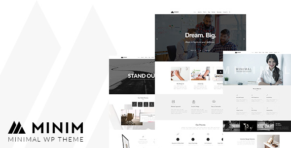 Minim Preview Wordpress Theme - Rating, Reviews, Preview, Demo & Download