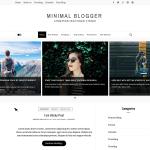 Minimal Blogger